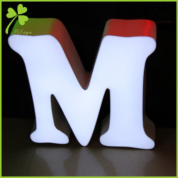 Illuminated Acrylic Letters