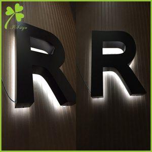 Backlit LED Sign Letters