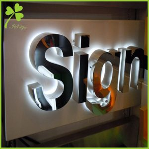 Backlit Logo Sign