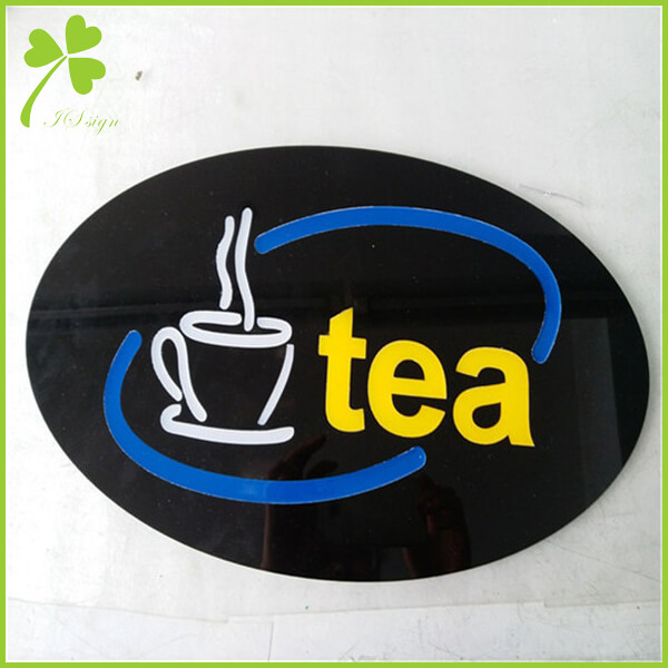 Coffee And Tea Bar Sign