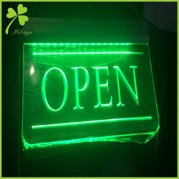 Custom LED Open Signs