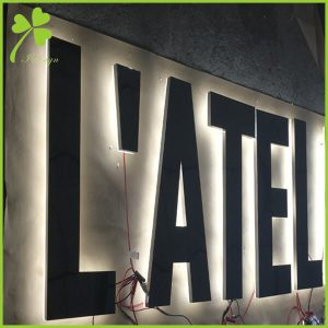 DIY LED Backlit Sign