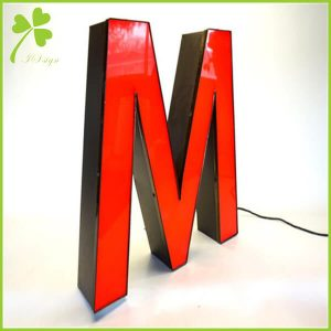 Front Lit Channel Letter Sign