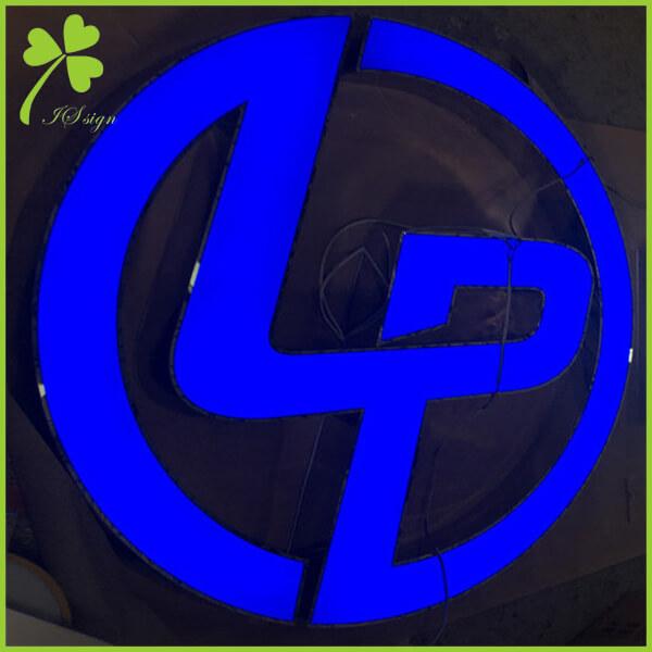 Illuminated Logo Sign