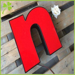 Lit Signage Letters