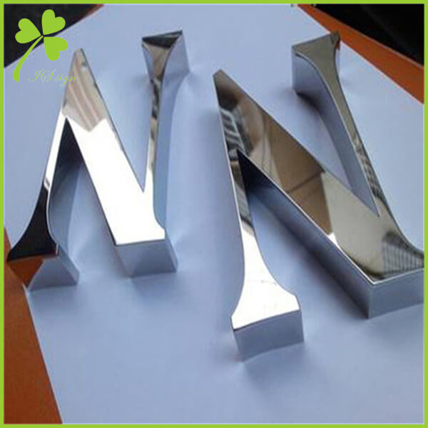Mini Metal Letters