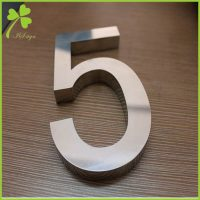 Mini Metal Numbers