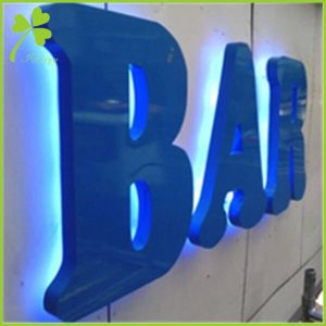 Halo Lit Channel Letters