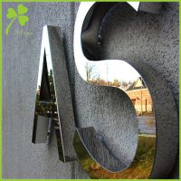 Small Stainless Steel Letters
