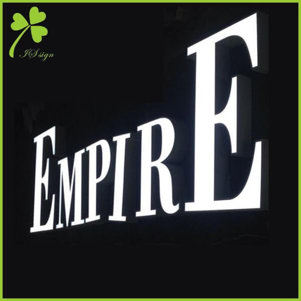 3D LED Sign Letters
