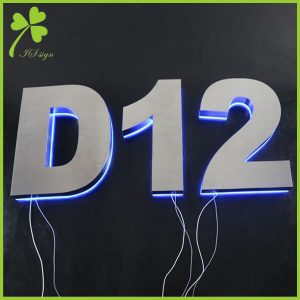 Backlit House Numbers DIY