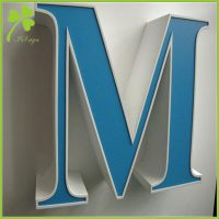 Blue Channel Letters