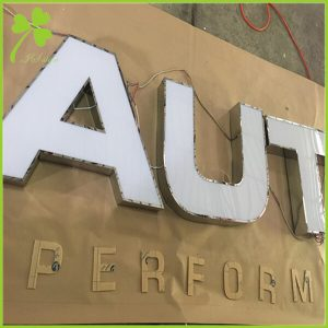 Metal Channel Letter Halolit Aluminum Channel Letters | IS LED SIGN