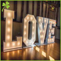 Custom Light Up Letters