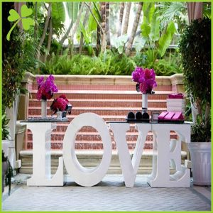 Free Standing Letters Wedding