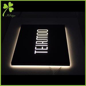Halo Lit Sign Letters