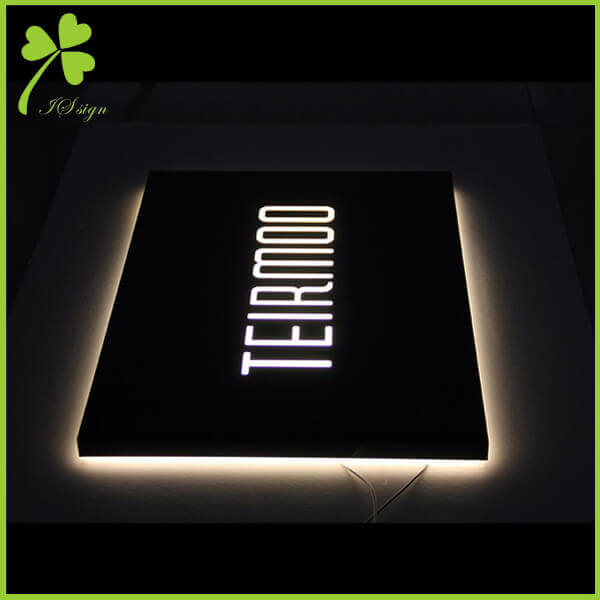 Halo Lit Sign Letters Backlit Letters DIY Suppliers