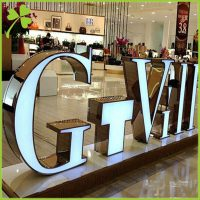 Large Outdoor 3D Letters