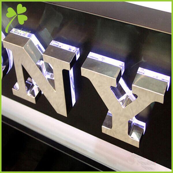 Metal LED Lighted Sign