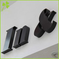 Non Illuminated Channel Letters