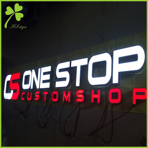 Storefront Sign Letters