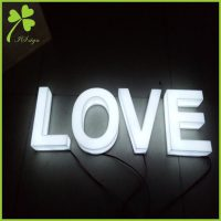 Wholesale Acrylic Letters