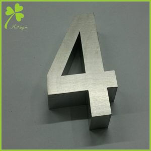 Cast Aluminum Letters and Numbers