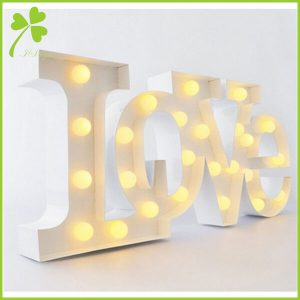 Custom Light Bulb Signs