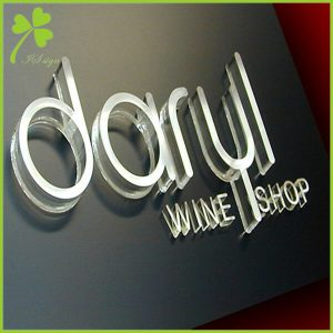 Outdoor Sign Letters Plastic