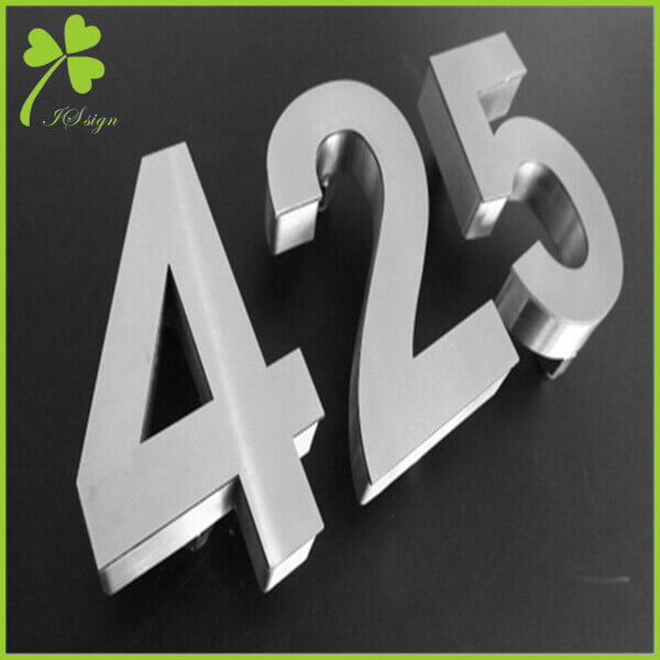 Outdoor Sign Letters and Numbers