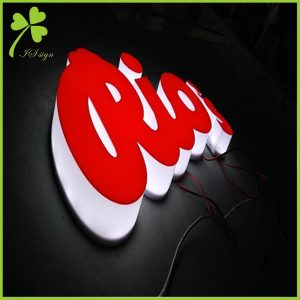 Acrylic Logo With Light
