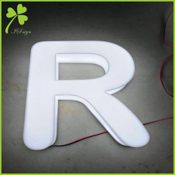 3D Illuminated Letters