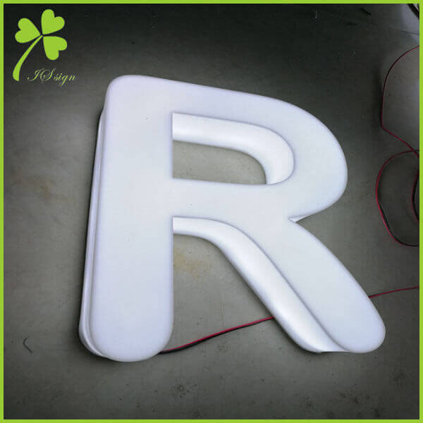 3D Illuminated Letters