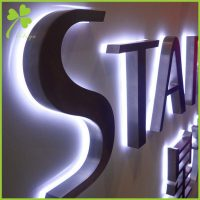 LED Backlit Sign