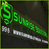 ILLUMINATED SIGNS Store Front Lighted Sign Letters | IS LED SIGN