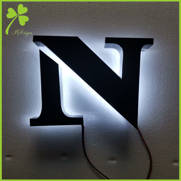 Metal Lighted Signs