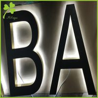 Outdoor Lighted Letters