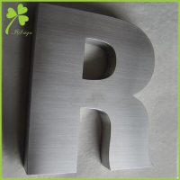 Stainless Steel Alphabet Letters