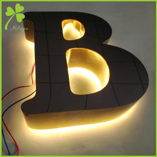 3D LED Backlit Signs