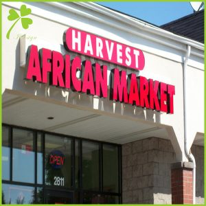 Custom Storefront Signs