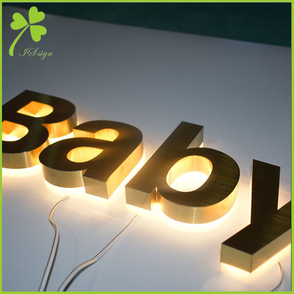 Reverse Pan Channel Letters Sign Custom Reverse Channel Signs Wholesale