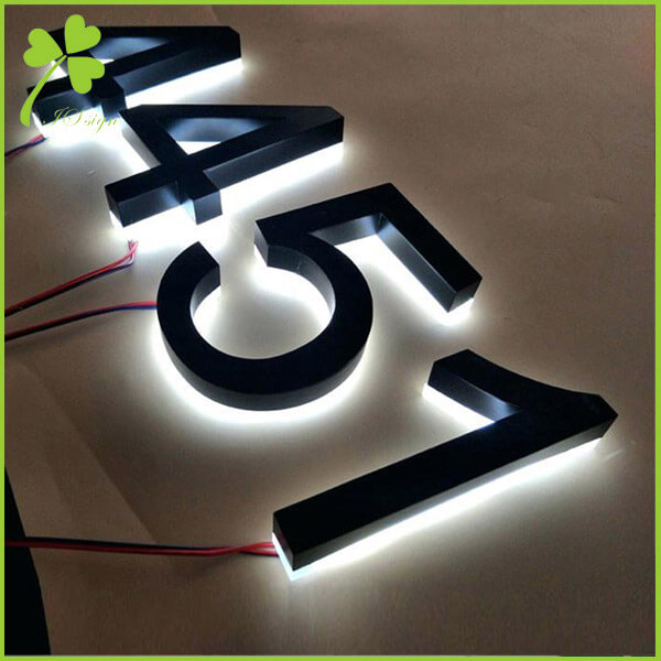 Custom Metal Numbers 3D Letter Sign Manufacturer