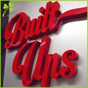 Indoor Channel Letters Custom Business Signs Manufacturer