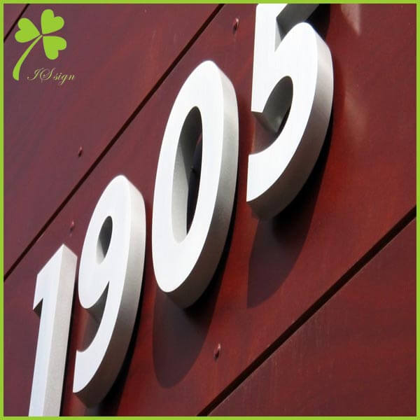 Commercial Letter Signs Outdoor Building 3D Letter Maker