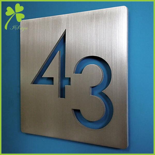 Custom Cut Metal Signs Aluminum Metal Signs Manufacturer