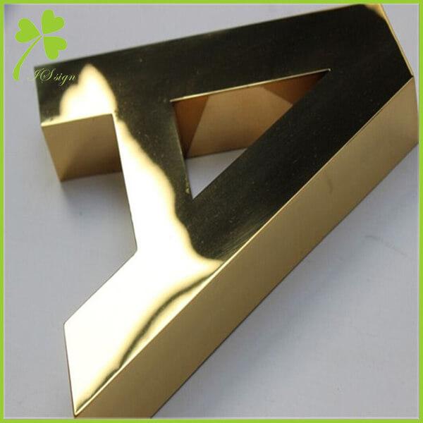 Custom Metal Signs For Business Metal Logo Sign Factory