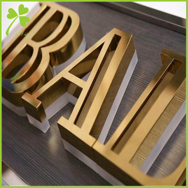 Fabricated Letters Signage Stainless Steel Letters Manufacturer