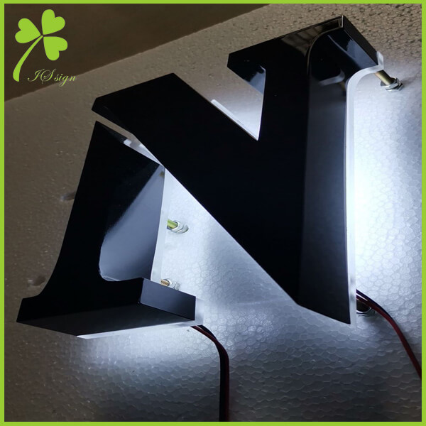 Metal Backlit Signs Indoor LED Lighted Signs Manufacturer